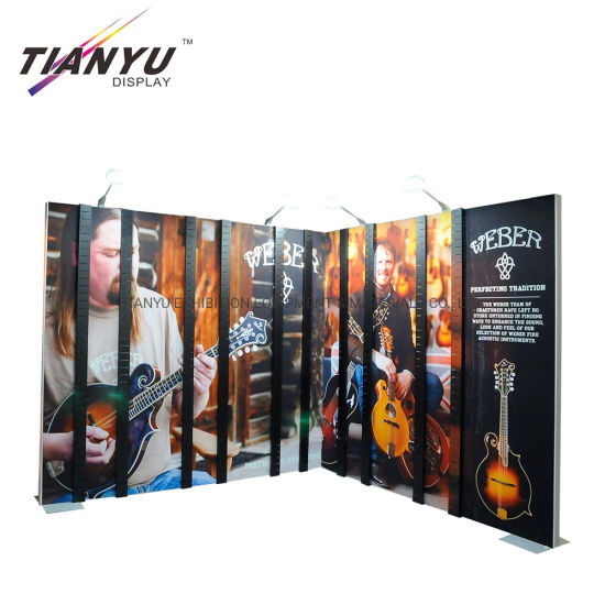 Pabrik Pasokan Top Quality Tradeshow Ketegangan Fabric Backwall Pameran Booth